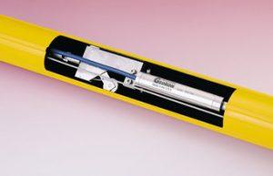 Thiết bị đo chuyển vị ngang đặt tại chỗ sử dụng công nghệ dây rung
